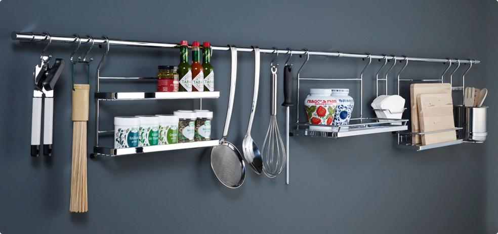 Релинговые системы для кухни.