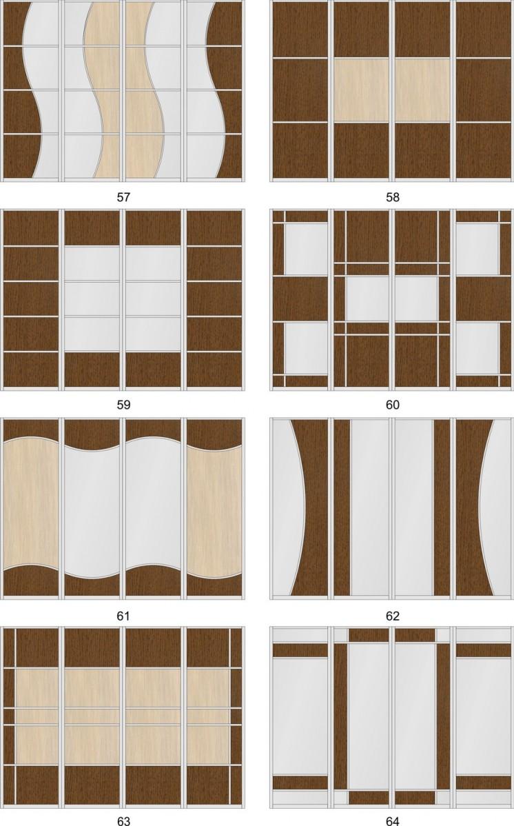 Двери для шкафов купе