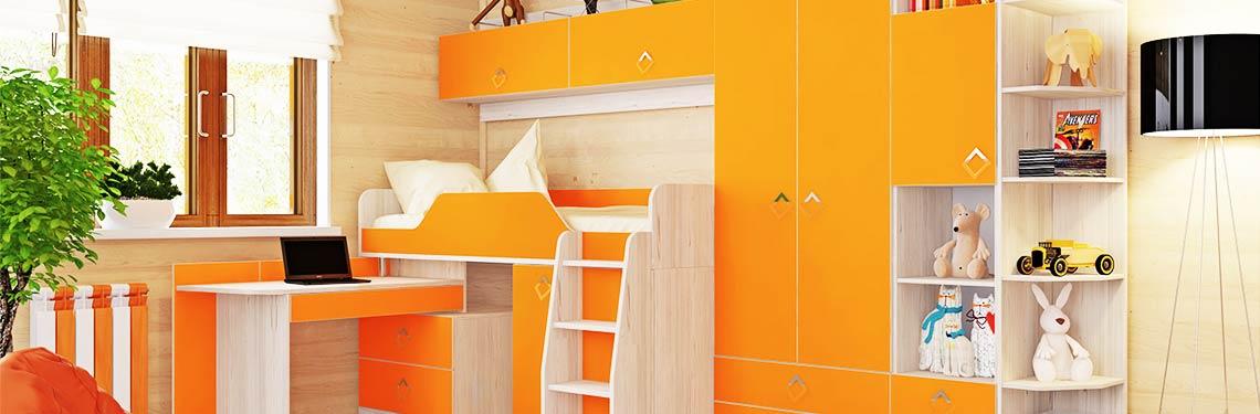 Купить мебель в детскую комнату в Калуге